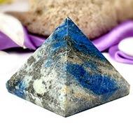 Pyramid in Natural - Lapis Lazuli - II