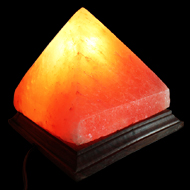 Himalayan Rock Salt Pyramid Lamp - Large