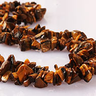 Tiger Eye uncut necklace