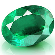 Emerald 2.75 carats Zambian - Oval