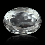 White Topaz - 5 to 6 carats - Oval