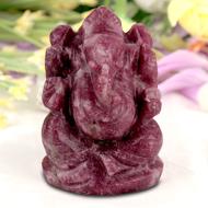 Lepidolite Ganesha - 102 gms