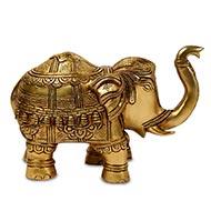 Designer Elephant In Brass - Big