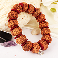 Collector 9 mukhi durga bracelet - Java