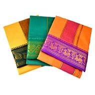 Cotton Puja Dhoti - V