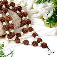 3 mukhi Mahajwala mala - 27+1 beads - Design I