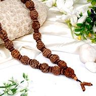 3 mukhi Mahajwala mala - 32+1 beads - Design I