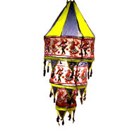3 strip Hanging Lantern