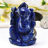 Lapis Lazuli Ganesha - 81 gms