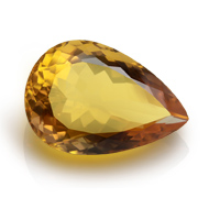 Yellow Citrine - 8.50 Carats - Pear