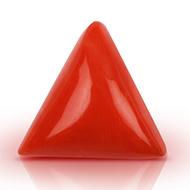 Italian Coral triangular- 8.15 carats