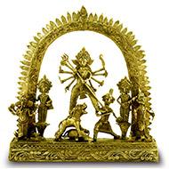 Maa Durga - Dhokra metal art