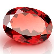 Red Garnet - Ceylon - 3.80 Carats