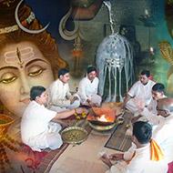 Rudra Abhishekam and Yajna (Homam)