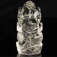 Sphatik Crystal Ganesha - 77 gms