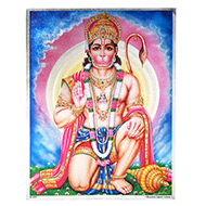 Lord Hanuman Photo - Large - Design I