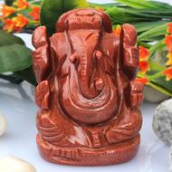 Sunstone Ganesha - 122 gms