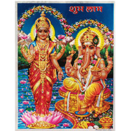 Ganesh Laxmi Photo - Large