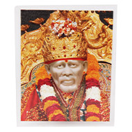 Shirdi Sai Baba Glittering Photo