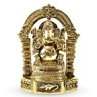 Mahodara Ganesha in brass