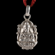 Lakshmiji in Pure Silver - Design II