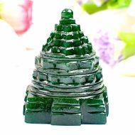 Green Jade Shree Yantra - 129 gms