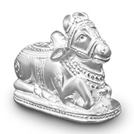 Nandi in pure silver - Design II