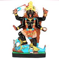 Maa Kaali in black marble idol - 15 inches