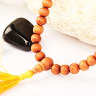 Sandalwood mala - 8mm
