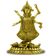Maha Kaali - Dhokra metal art - Big