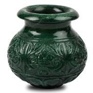 Natural Green Jade Kalash