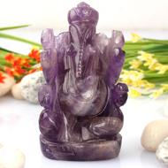 Ganesha in Amethyst - 99 gms