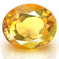 Yellow Citrine - 3 - 4 Carats - Oval