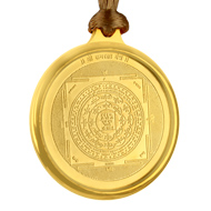 Ramraksha Yantra Locket - Gold Plated