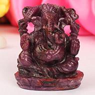 Ruby Ganesh - 596 carats