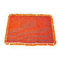 Rudraksha Mat in cotton thread smooth beads
