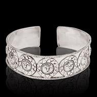 Surya Bracelet in pure silver - Design I