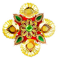 Golden Shell Decorative