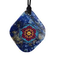 Katyayani Yantra Pendant on Lapis Lazuli