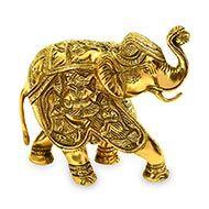 Riddhi Siddhi Ganesh on Elephant
