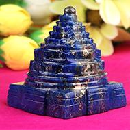 Lapis Lazuli Shree Yantra - 140 gms