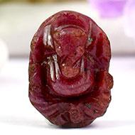 Ruby Ganesh - 33.50 carats