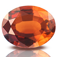 Hessonite Garnet - Gomed - 2.50 Carats