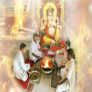 Shree Ganesha Puja Mantra Japa and Yajna