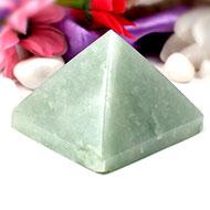 Light Green Jade Pyramid-I
