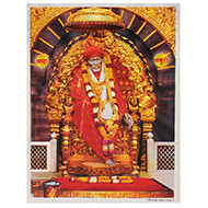 Shirdi Saibaba Photo - Large