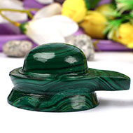 Shivlinga in Malachite - 190 gms