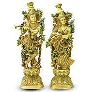 Radhe Krishna in Brass - IV