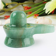 Light Green Jade Shivlinga - 40 gms