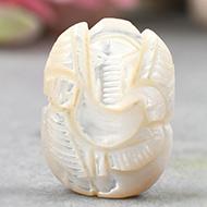 Pearl Ganesh - 18 carats